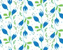 Teste padrão floral do vetor Imagem de Stock