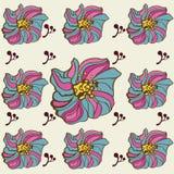 Teste padrão floral do vetor Imagens de Stock Royalty Free