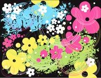 Teste padrão floral do vetor Fotos de Stock