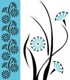 Teste padrão floral do vetor do projeto Foto de Stock