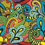 Teste padrão floral do vetor sem emenda Imagens de Stock Royalty Free