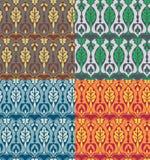 Teste padrão floral do Victorian Imagem de Stock Royalty Free