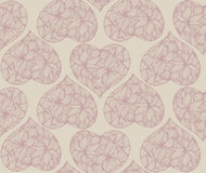 Teste padrão floral do vintage Imagem de Stock Royalty Free