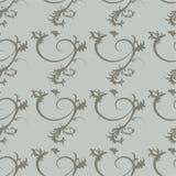 Teste padrão floral dos ornamento Imagens de Stock Royalty Free