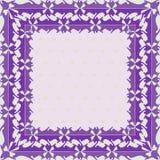 Teste padrão floral geométrico quadrado colorido abstrato decorativo Nontrivial Fotos de Stock