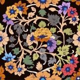 Teste padrão floral islâmico clássico Foto de Stock Royalty Free