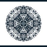 Teste padrão floral isolado Foto de Stock Royalty Free