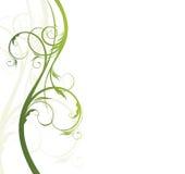 Teste padrão floral para o texto Imagens de Stock Royalty Free