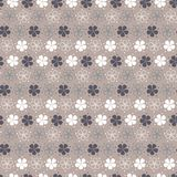 Teste padrão floral pastel simples ilustração stock