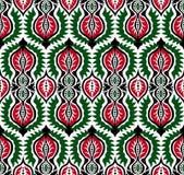 Teste padrão floral popular Imagens de Stock