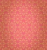 Teste padrão floral popular do vetor. Fundo ornamentado étnico ilustração royalty free