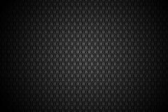 Teste padrão floral preto Imagens de Stock Royalty Free