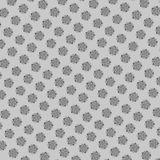 Teste padrão floral preto e branco Foto de Stock