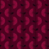 Teste padrão floral retro Imagens de Stock