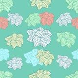 Teste padrão floral sem emenda Foto de Stock