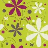 Teste padrão floral sem emenda ilustração royalty free