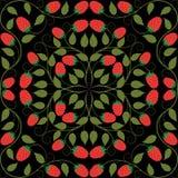 Teste padrão floral sem emenda abstrato Fotos de Stock Royalty Free