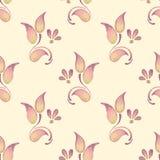 Teste padrão floral sem emenda Backgroun da aquarela com rosas Foto de Stock Royalty Free
