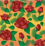 Teste padrão floral sem emenda com das rosas vinous Imagens de Stock