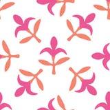 Teste padrão floral sem emenda com flores Imagem de Stock