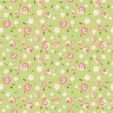 Teste padrão floral sem emenda com flores pequenas Fotografia de Stock Royalty Free