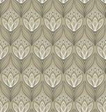 Teste padrão floral sem emenda com tulips Fotos de Stock