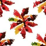 Teste padrão floral sem emenda 18 da aquarela Fotos de Stock Royalty Free