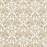 Teste padrão floral sem emenda do corte do papel Foto de Stock
