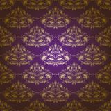 Teste padrão floral sem emenda do damasco Imagem de Stock