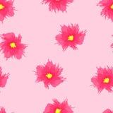 Teste padrão floral sem emenda do grunge Foto de Stock