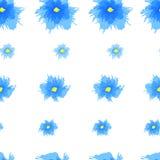 Teste padrão floral sem emenda do grunge Fotografia de Stock Royalty Free