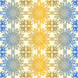 Teste padrão floral sem emenda do papel de parede real, fundo luxuoso Imagem de Stock Royalty Free