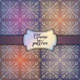 Teste padrão floral sem emenda do papel de parede real, fundo luxuoso Fotos de Stock