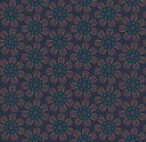 Teste padrão floral sem emenda do russo ilustração stock