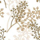 Teste padrão floral sem emenda do vetor Imagem de Stock