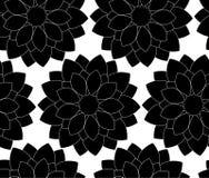 Teste padrão floral sem emenda do vetor ilustração royalty free