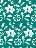Teste padrão floral sem emenda do vetor Fotografia de Stock Royalty Free