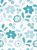 Teste padrão floral sem emenda do vetor Imagens de Stock