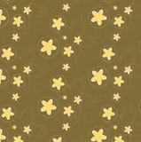 Teste padrão floral sem emenda do vintage Fotografia de Stock Royalty Free