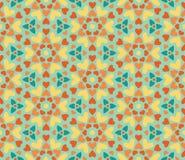 Teste padrão floral sem emenda dos corações ilustração stock