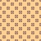 Teste padrão floral sem emenda. Fotos de Stock