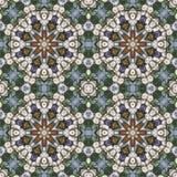 Teste padrão floral sem emenda, pintura a óleo Fotos de Stock Royalty Free