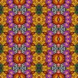 Teste padrão floral sem emenda, pintura a óleo Imagem de Stock