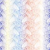 Teste padrão floral sem emenda (vetor) Imagens de Stock