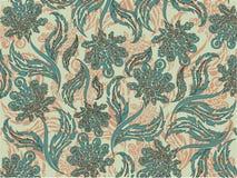 Teste padrão floral, sobre o fundo, a flora ilustração stock