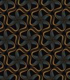 Teste padrão floral telhado Imagem de Stock