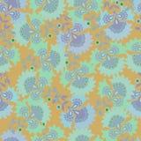 Teste padrão floral Teste padrão sem emenda de matéria têxtil do vintage cópia Imagem de Stock Royalty Free