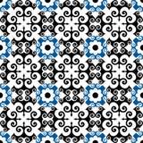 Teste padrão floral tradicional Imagem de Stock Royalty Free