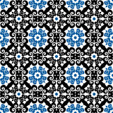 Teste padrão floral tradicional Imagem de Stock
