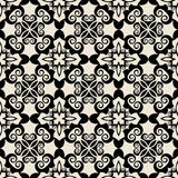 Teste padrão floral tradicional Imagens de Stock Royalty Free